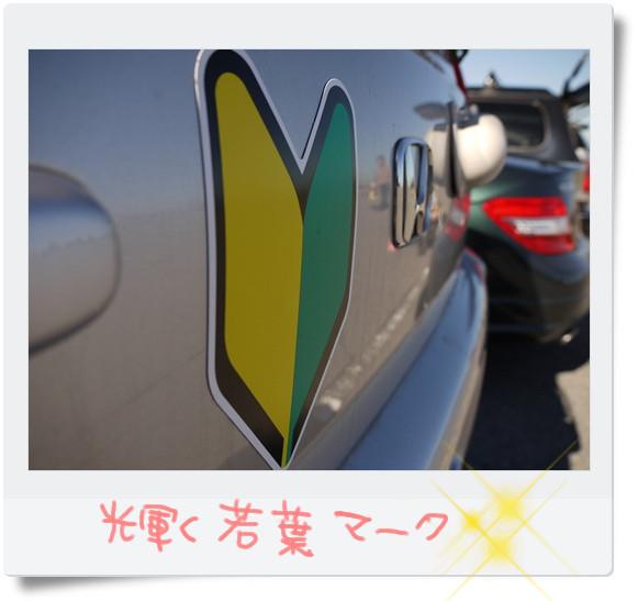 まぶしい初心者マーク.jpg